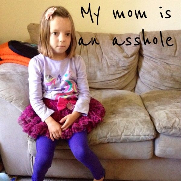 Humor is a must if you are going to get through parenthood. When your daughter has one of those tough days, you need to think of the world through her eyes and find the humor. Funny parenting means being able to laugh at yourself, even when your kids think you are the least funny mom in the world!