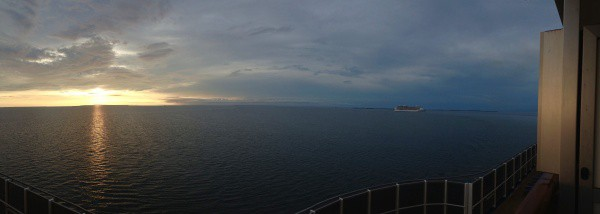 Balcony View on Carnival Dream