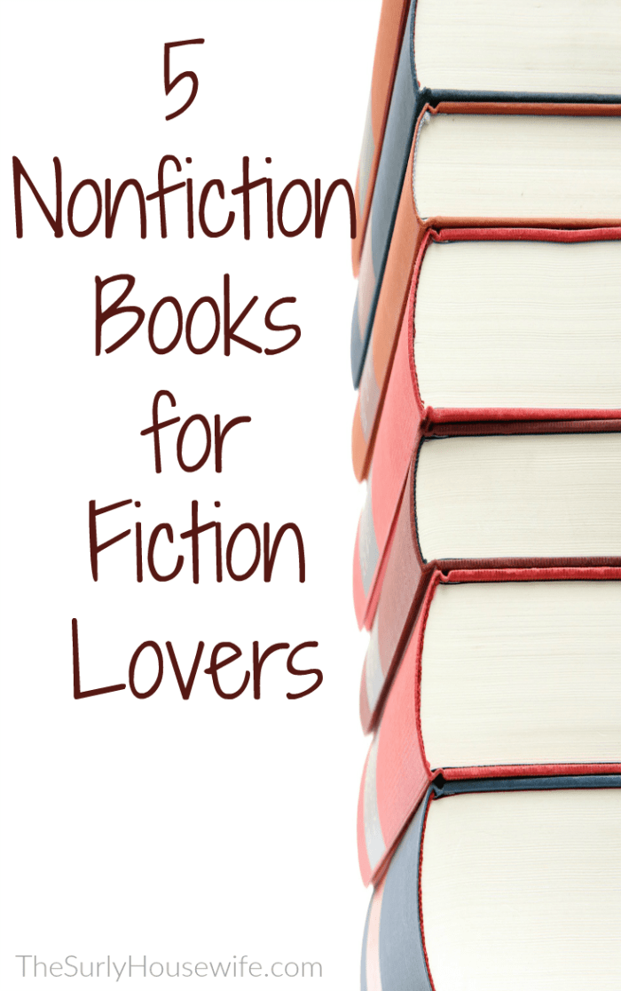 If you need a nonfiction book to read, check out this post for 5 nonfiction books you (and your book club) will love! It features historical nonfiction, true stories, and memoirs.