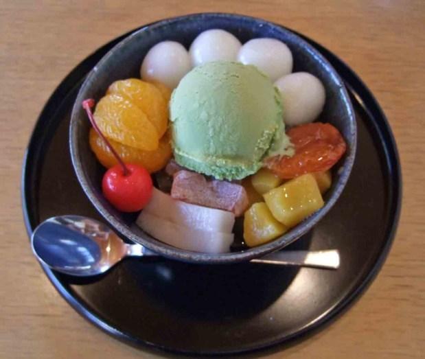 Cream Mitsumame