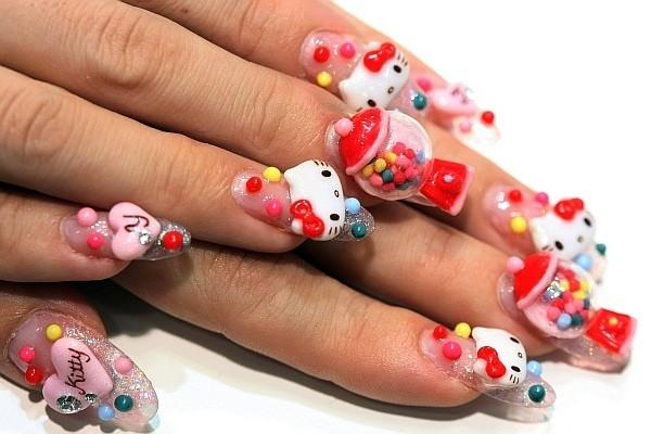 Japanse Nail Art Kunstwerken Op Je Nagels