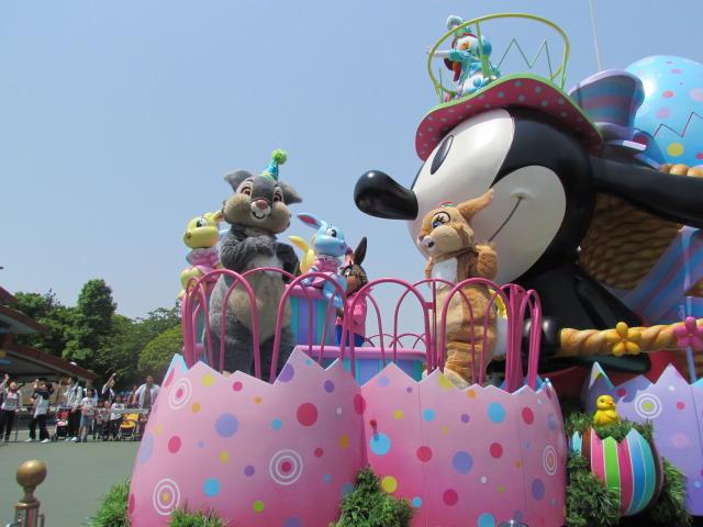 DisneyLand Easter Parade. Deze en nog vele andere foto's van de parade vind je op Tenchi's Thoughts,