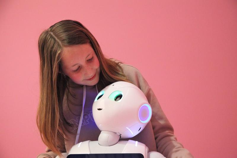Ontwikkeld door Alderbaran Robotics en Softbank; 2014 (exemplaar uit 2017). Foto: Museum Volkenkunde