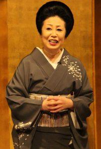 Geisha met shamisen
