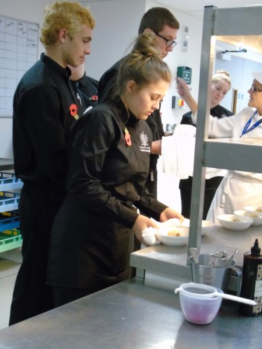 Chichester College Catering Courses