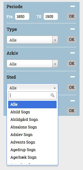 How to Search ArkivDK for your Danish Ancestor