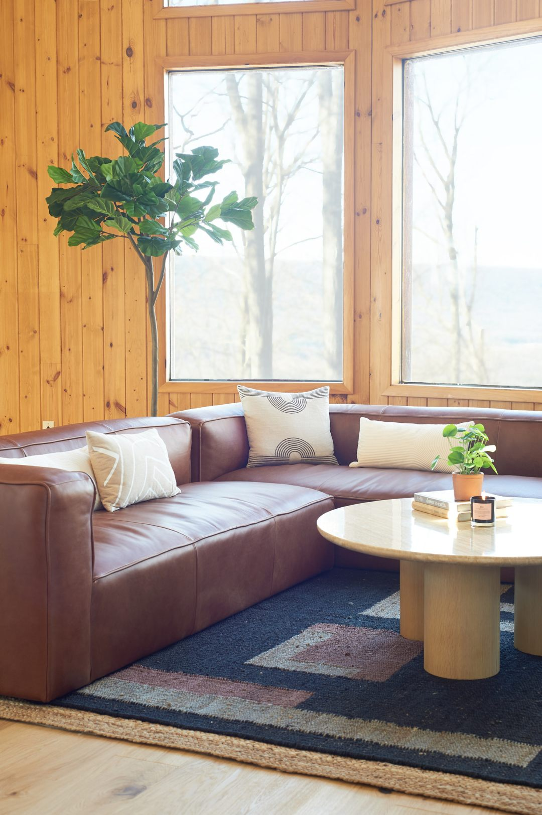 Article Mello Sectional in Taos Tan