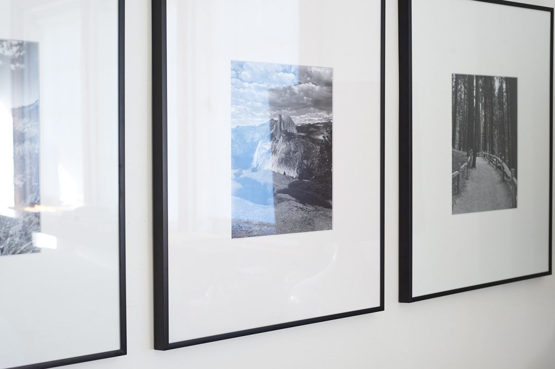 Black and White Prints in Budget Gallery Grid