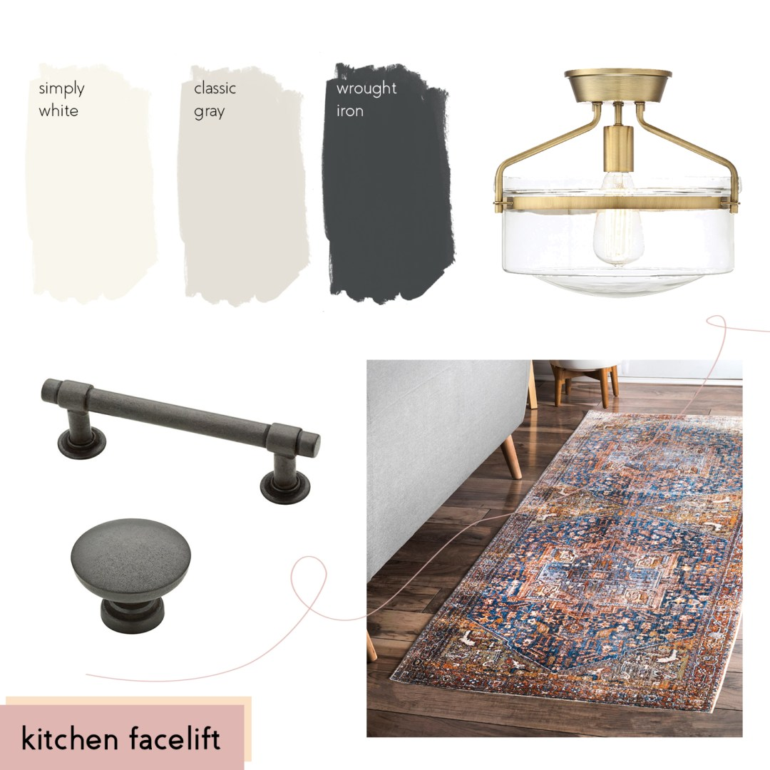 kitchen facelift moodboard