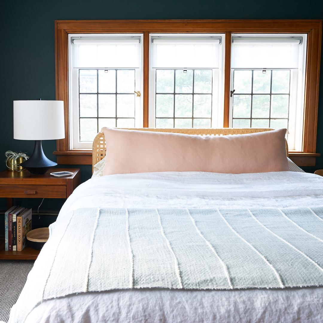 How to style bedding like a pro - after.