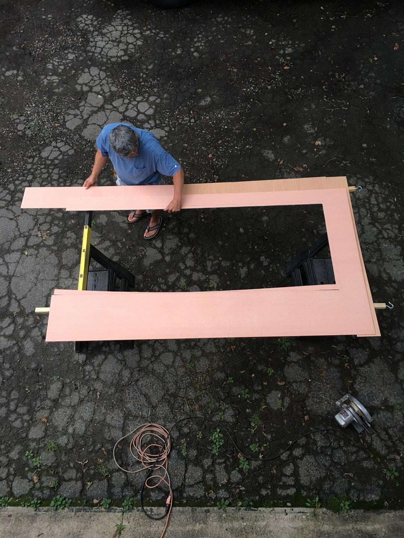 Cut Wood Panels | The Sweet Beast Blog