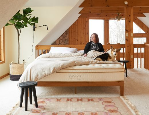 Saatva Mattress in Cabin Loft