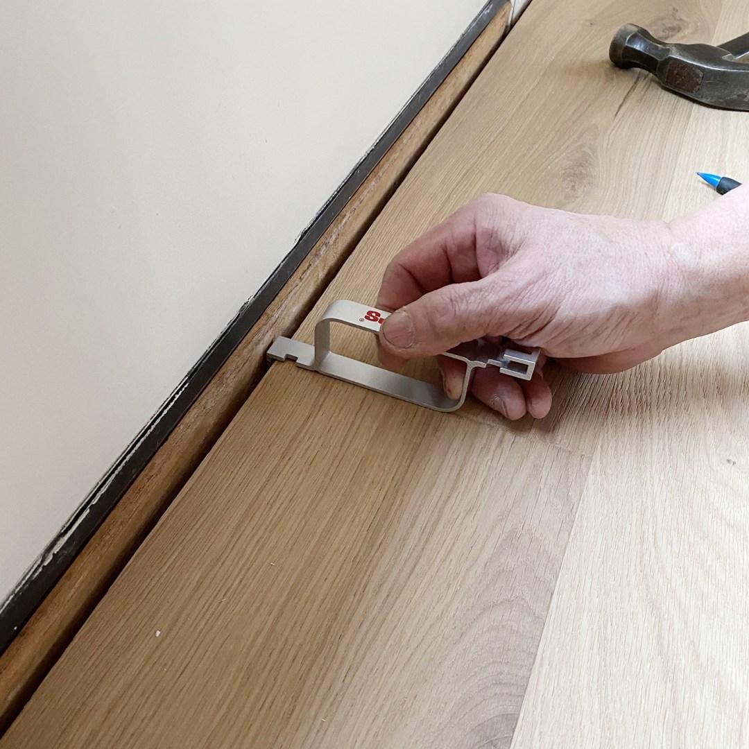 Locking the Last Board Stuga Kahrs