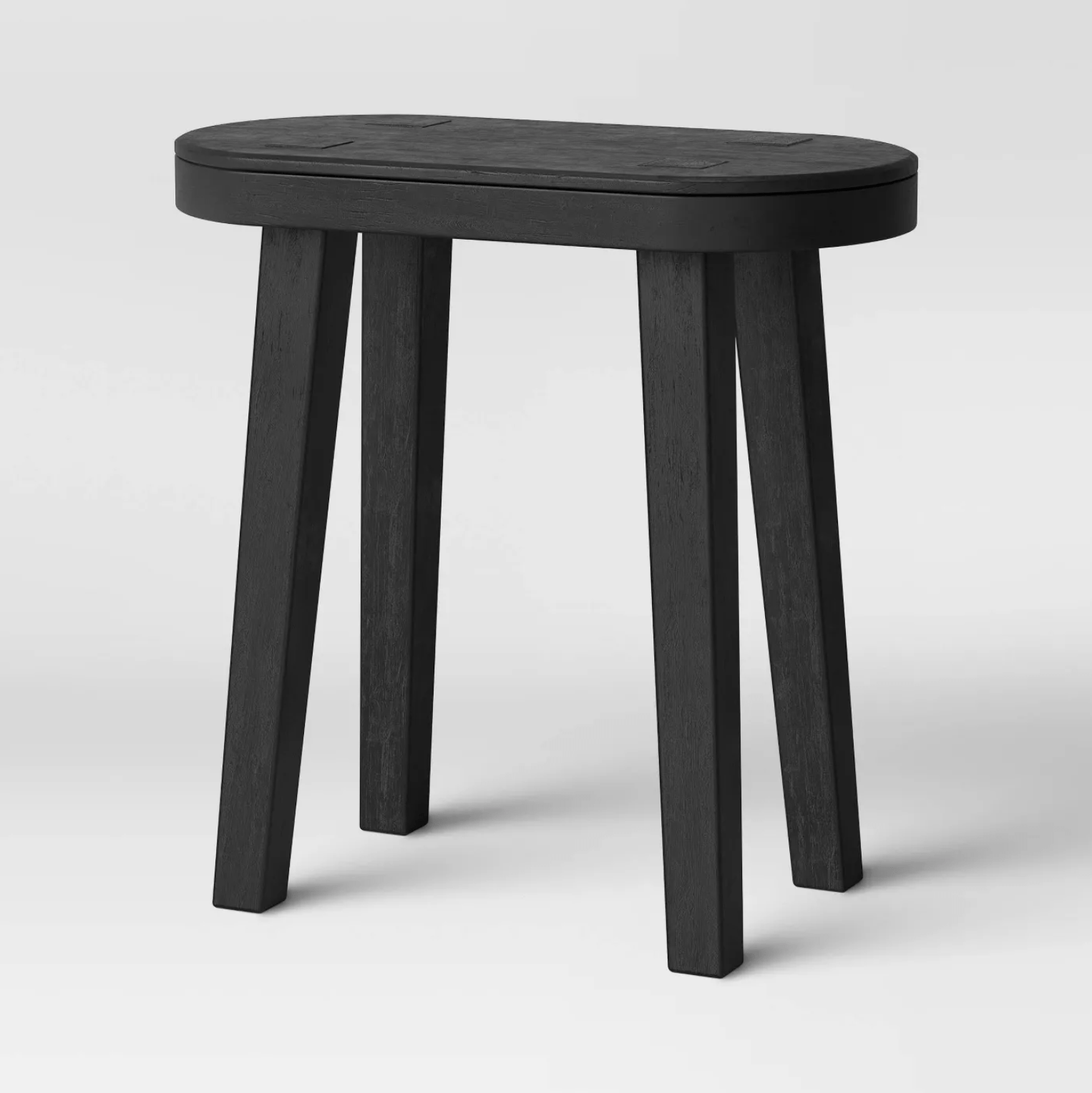 Target woodland carved accent table tall product photo