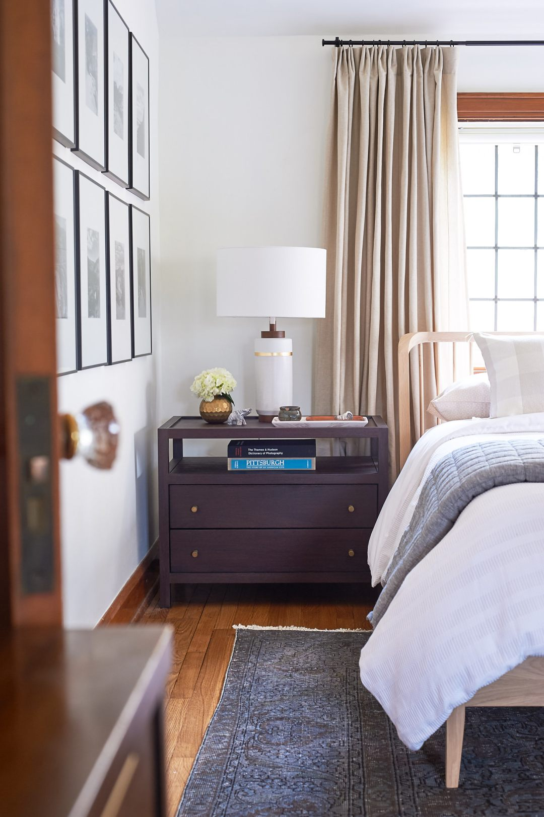 Crate and Barrel Keane Nightstands
