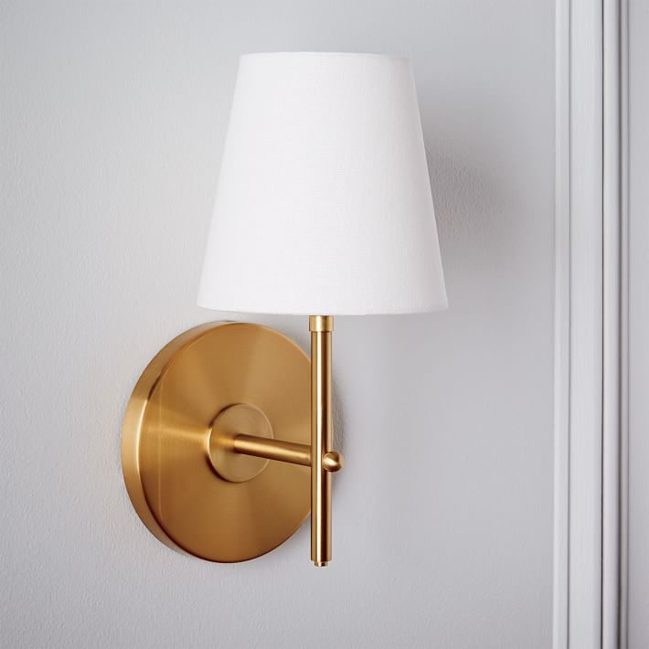 West Elm Arc Mid-Century Sconce Product Photo
