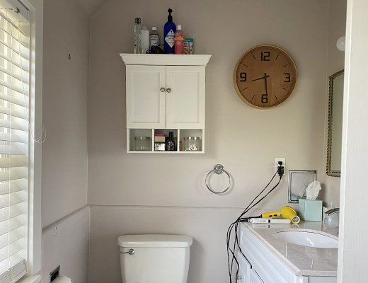 Small En-suite Bathroom Before