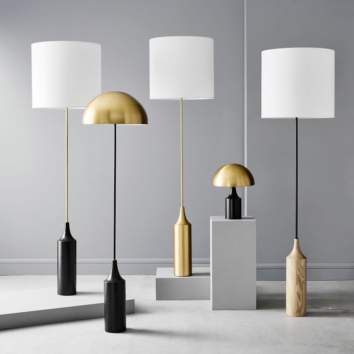 West Elm Hudson Lamps