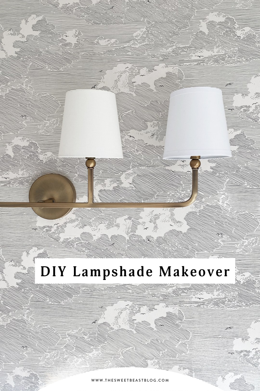 Lampshade Makeover DIY