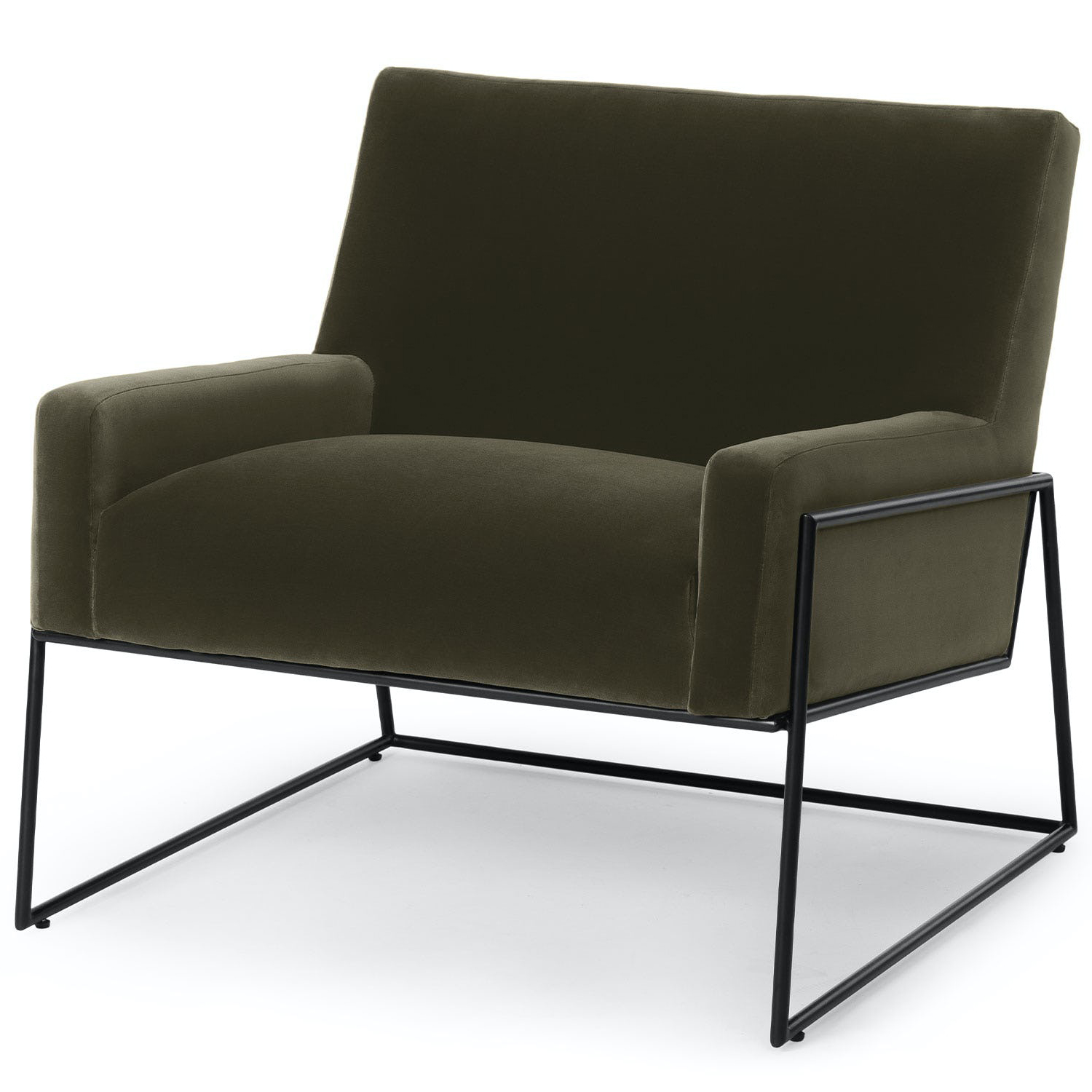 Article Regis Lounge Chair in Juniper Product Photo