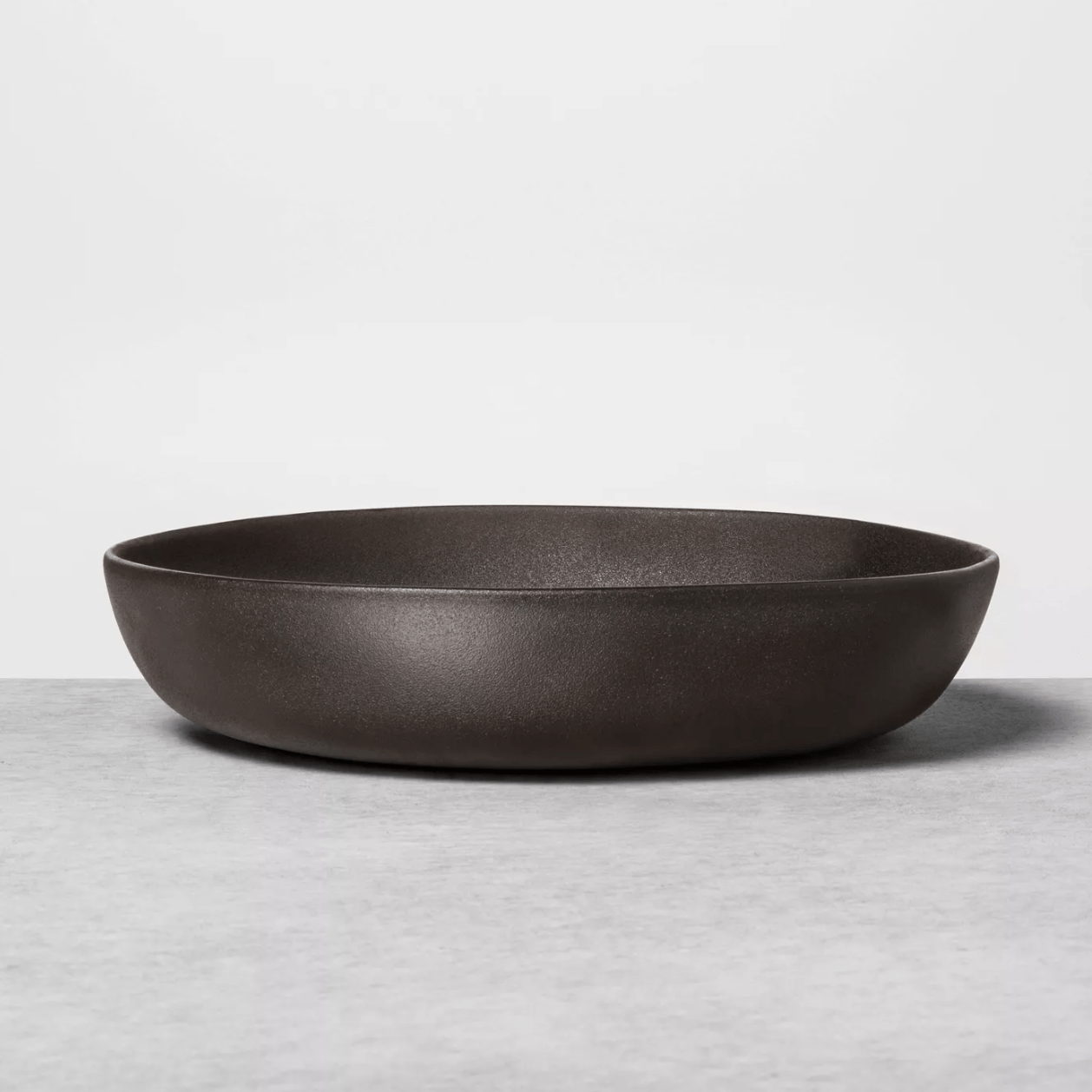 Target Stoneware Black Serve Bowl
