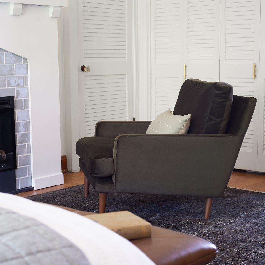 Article furniture luxu cedar chair