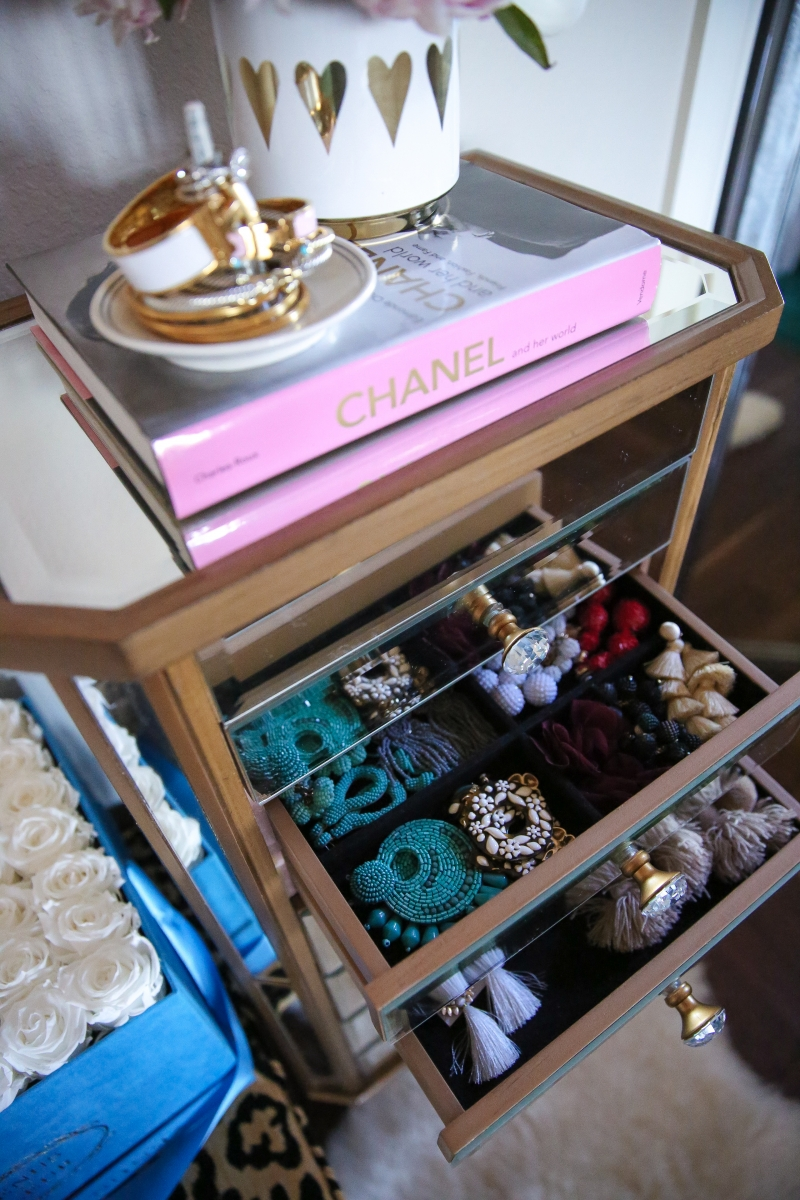 Makeup and Jewelry Organizer for your Master Bedroom | The ... on Makeup Bedroom  id=78885