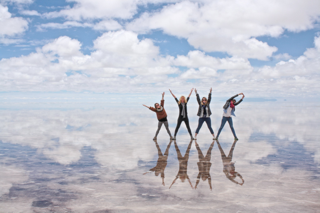 Salar de Uyuni during rainy season
