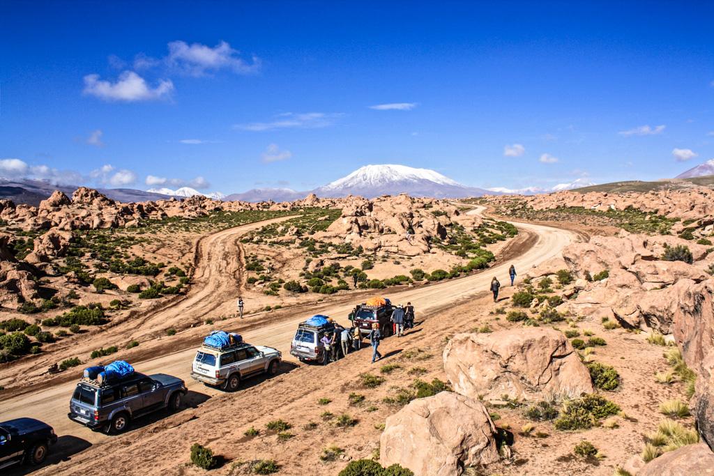 Valle de Piedras (Rock Valley)