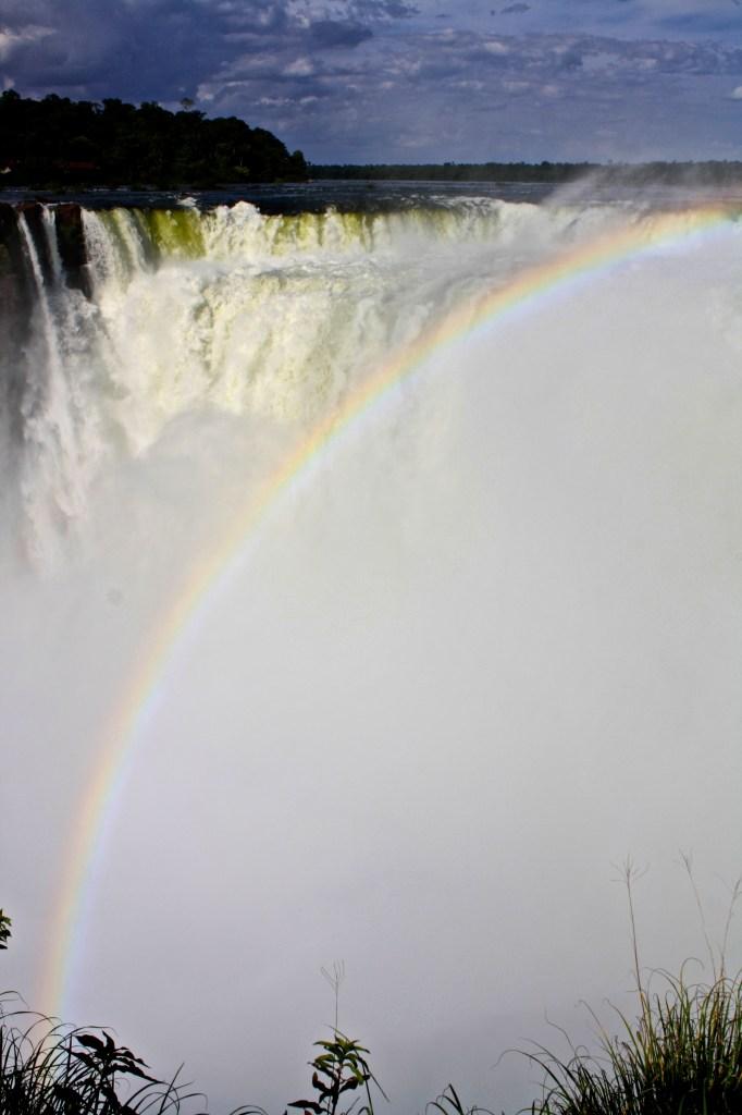 Solo travel at Iguazu Falls. La Garganta del Diablo.