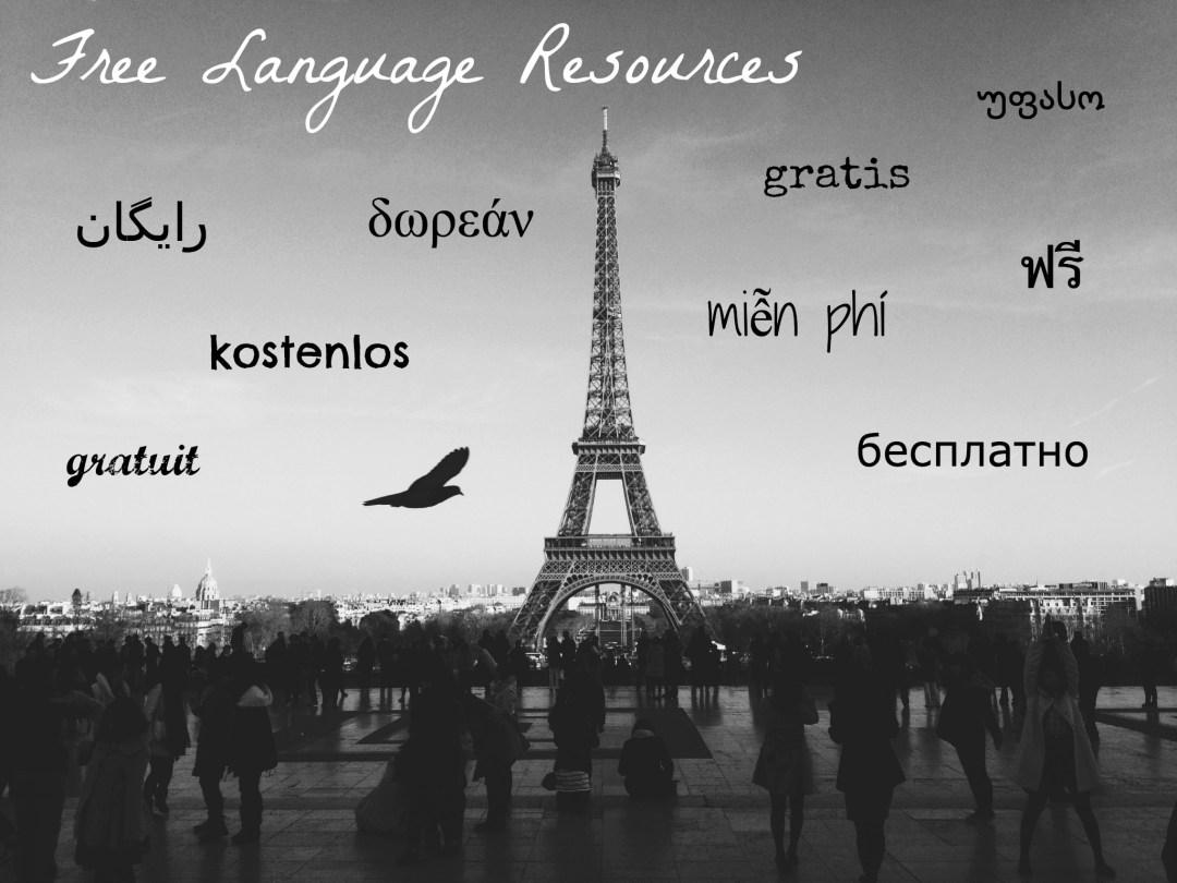 Free Language Resources