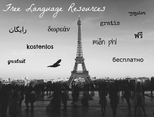 Free Language Resources