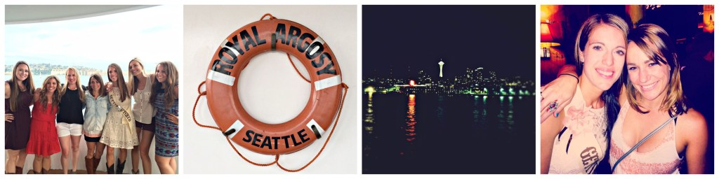 Celebrating a bachelorette party with Argosy Cruises in Seattle, Washington