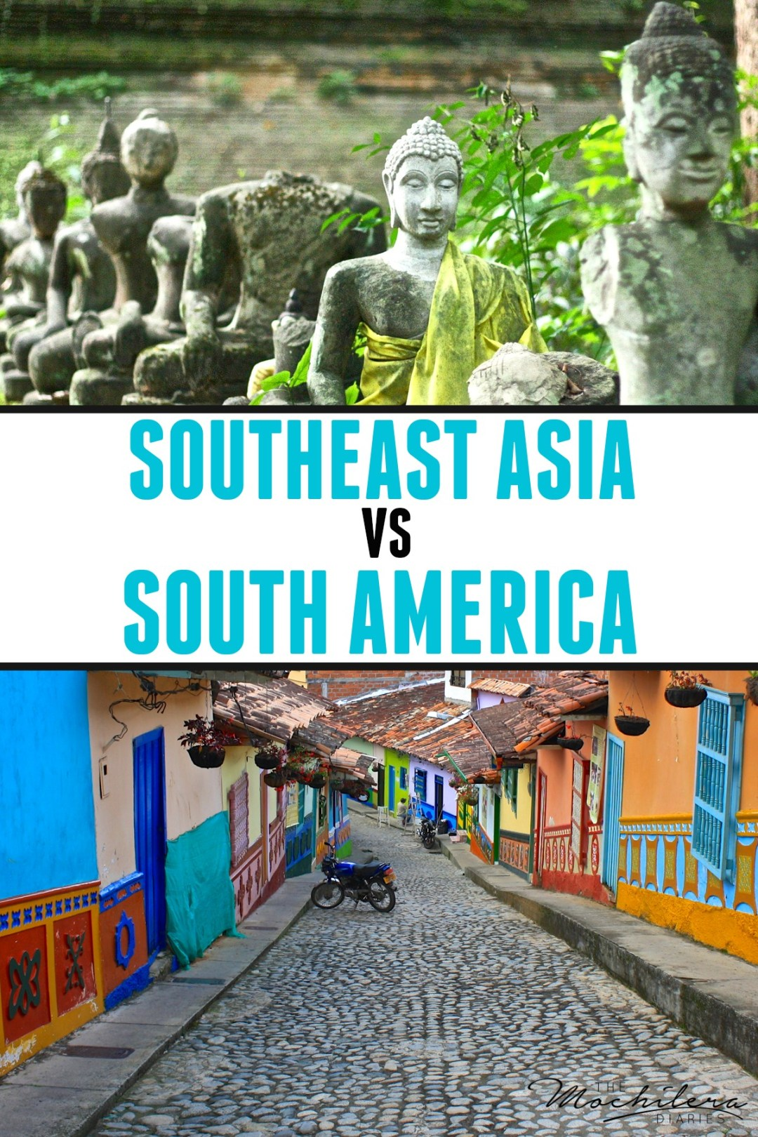 South America or Southeast Asia: Which do you think is the ultimate backpacking destination?