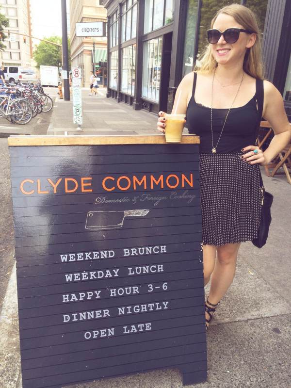 Brunch at Clyde Common