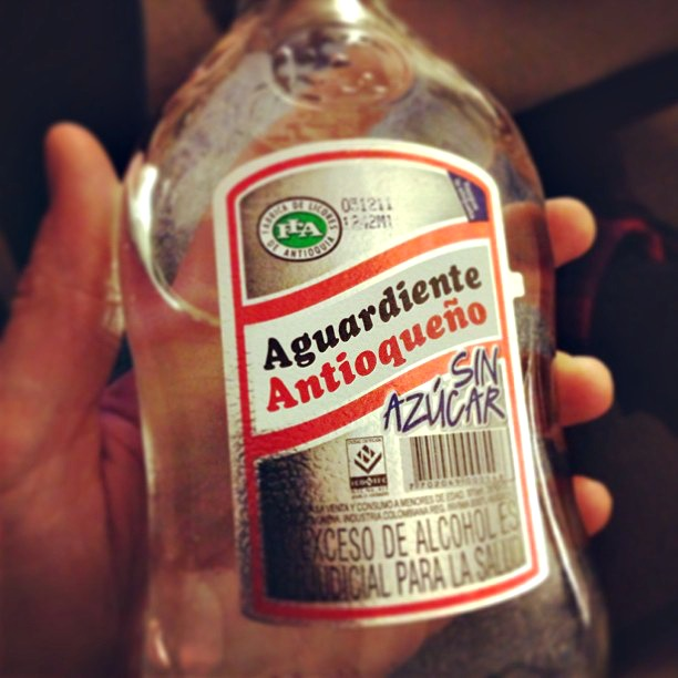 South American drinks you must try during your travels: Aguardiente, a local spirit from Colombia