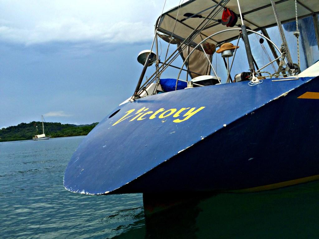 Sailboat Victory, Panama to Colombia via the San Blas Islands