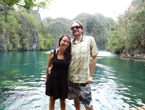 The Travel Lush at Lake Kayangan in Coron, Philippines