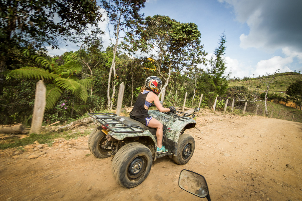 ATVs in Guarne with Adventure Trails Medellin