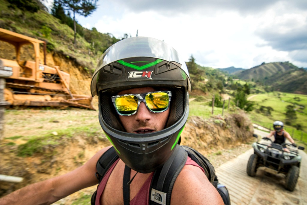 ATVs in Guarne, Colombia with Medellin Adventure Trails