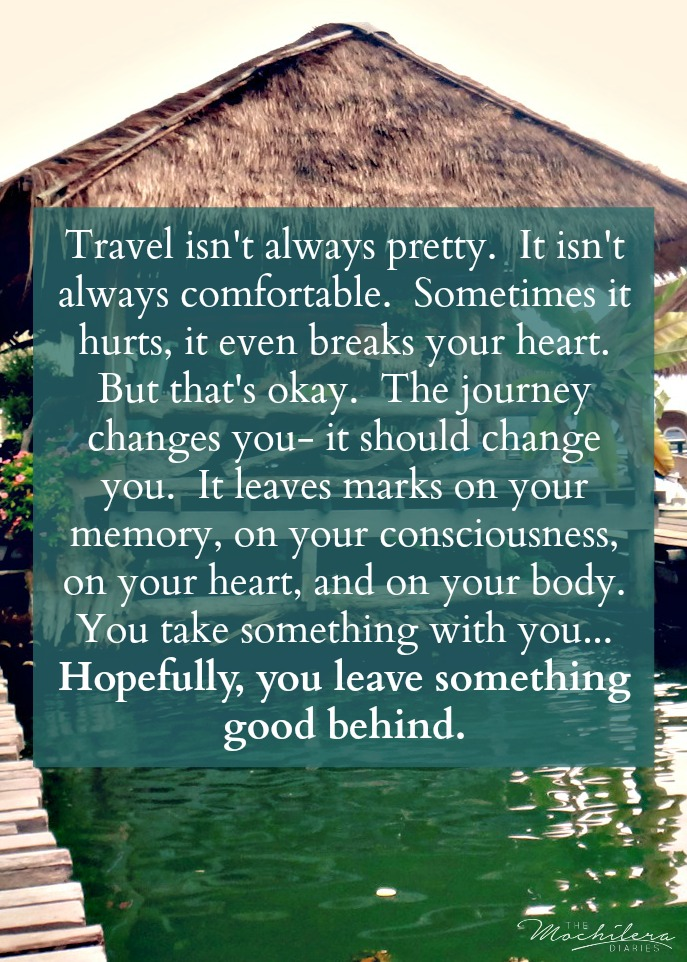 Bourdain Travel Quote The Sweetest Way