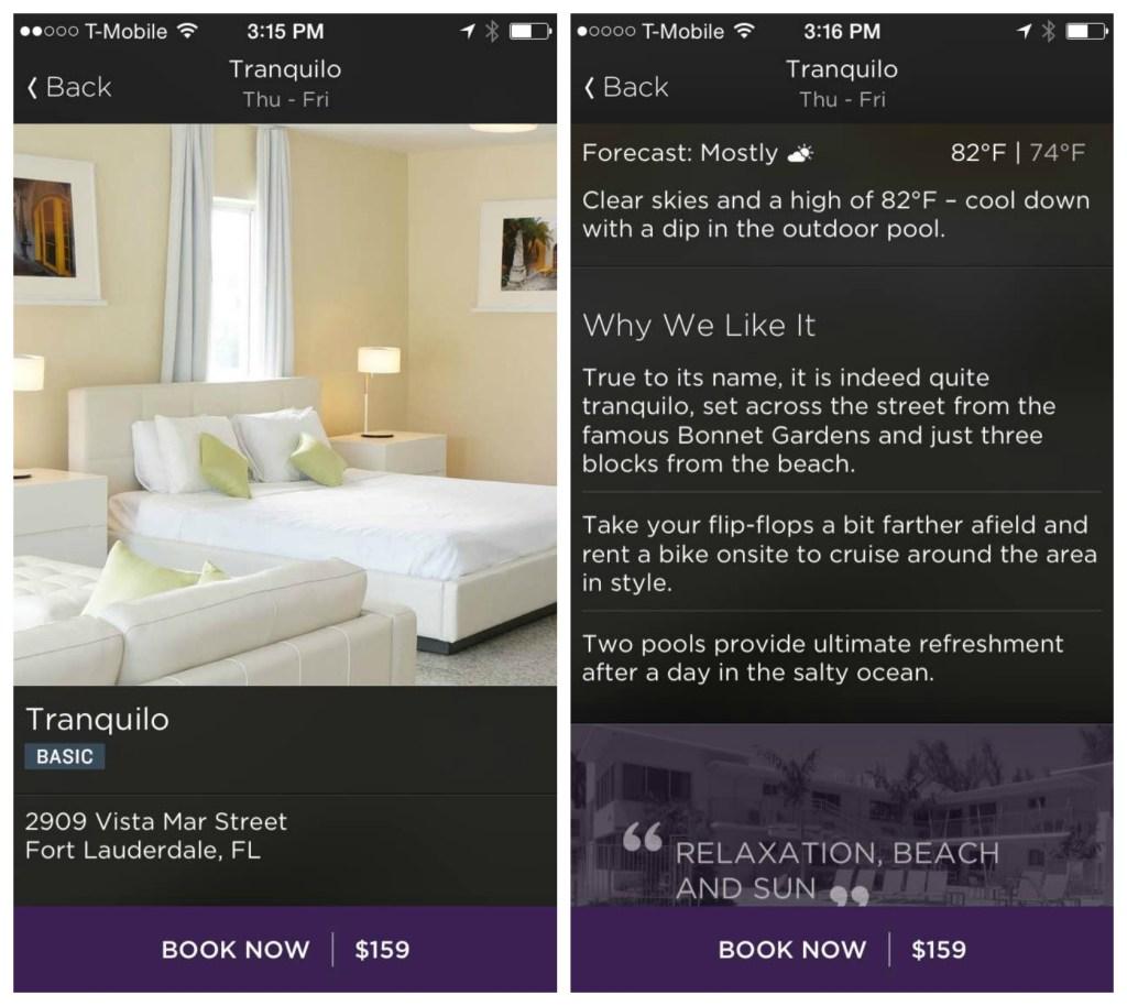 Hotel Tonight Booking App