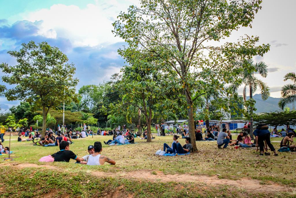 Parque Lineal Ciudad del Río, Medellín