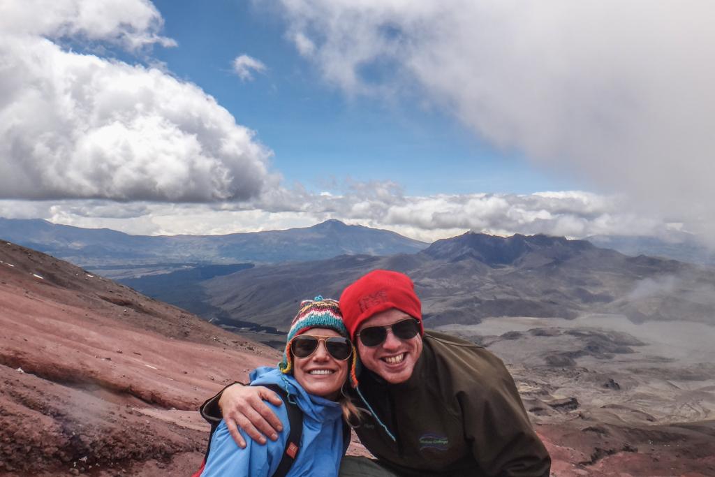 Climbing Cotopaxi in Ecuador