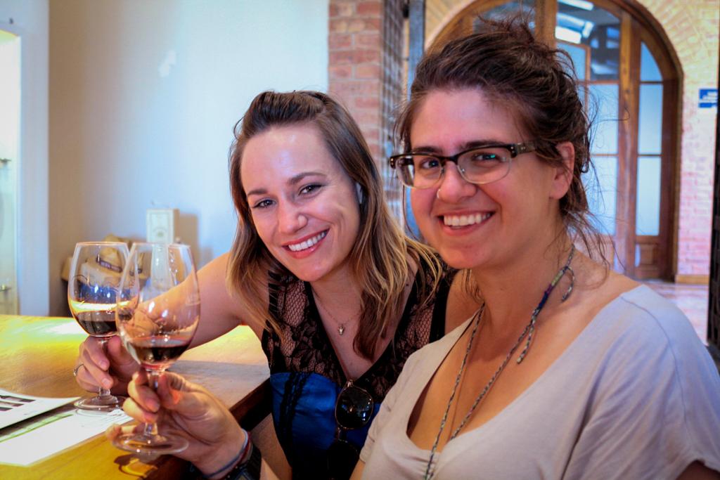 Wine tasting at Alta Vista Winery, Mendoza