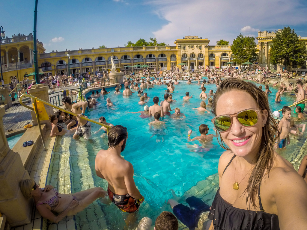 The Szechenyi Thermal Bath, Budapest