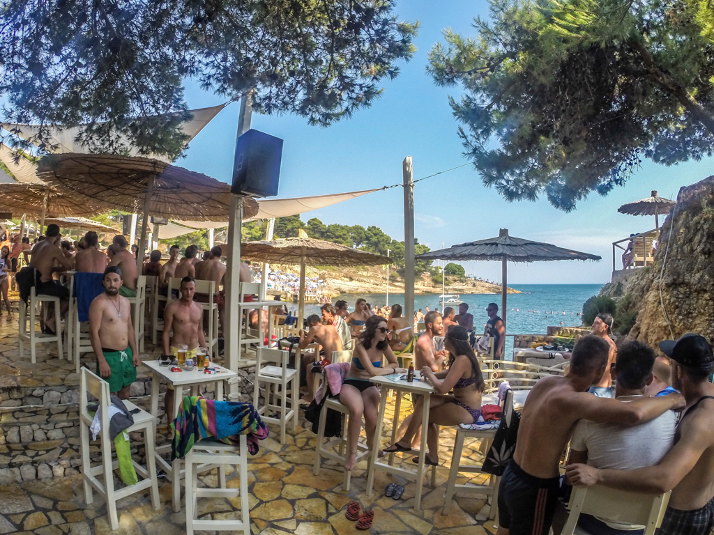 Aquarius Beach Club, Ulcinj, Montenegro