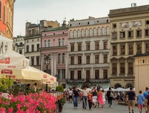 Summer in Kraków, Poland