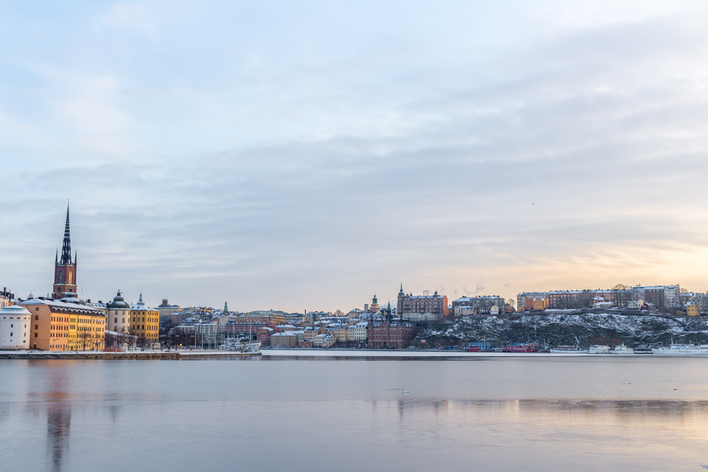 Winter in Stockholm, Sweden