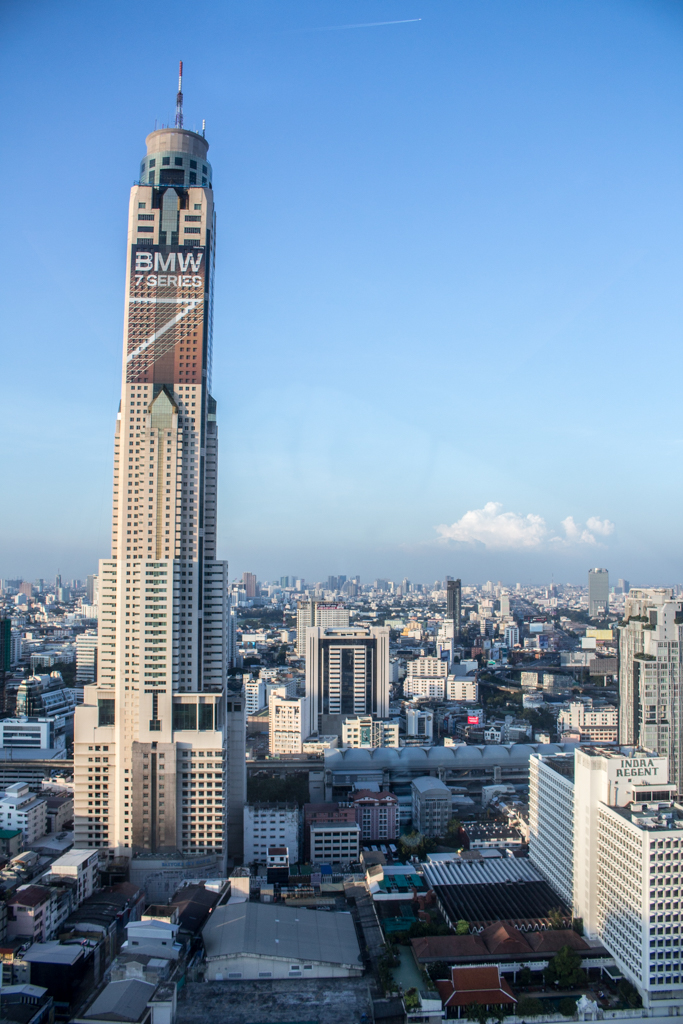 Amari Watergate Bangkok Executive Club Room View